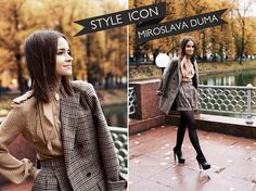 style icon   miroslava duma