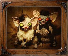 Mr & Mrs Crazy, by Santani #doll #Plushies #toys