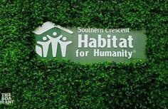Southern Crescent Habitat for Humanity Event with logo for sign provided by Ten23 Deigns