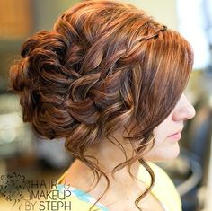 braided hairstyles for long thin hair wedding - Google Search