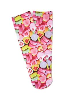 Candy Hearts Crew Socks - NEW ARRIVALS - ACCESSORIES - 2000118013 - Forever 21 UK