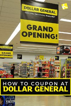 How do you use Dollar General digital coupons? Listen up were about to show you how to coupon at Dollar General! In this post, learn the ins and. How To Start Couponing, Couponing For Beginners, Couponing 101, Extreme Couponing, Dollar General Digital Coupons, Dollar General Couponing, Dollar General Penny Items, Dollar General Store, Where To Get Coupons
