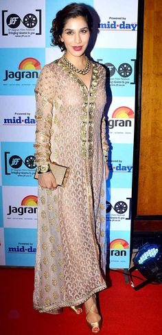 Sophie Choudry at 5th Jagran Film Festival launch party. #Bollywood #Fashion #Style #Beauty