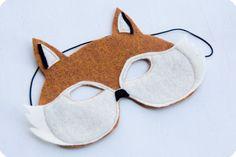Fox mask pattern