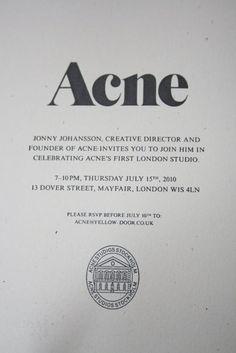acne design