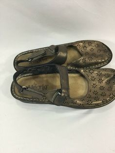 0c65c84520b Alegria Jemma Mary Jane Sandals Size 7 7.5  fashion  clothing  shoes