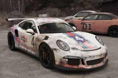 Paint is Dead: Rust Wrapped Porsche 911 GT3 RS by WrapZone - GTspirit