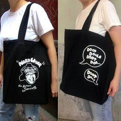Nardwuar the Human Serviette Tote Bag | Mint Records