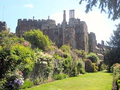 Berkeley Castle from the terrace. Credit David Bowd Exworth