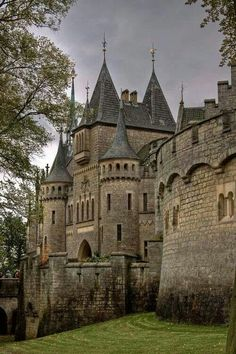 Medieval castle in Germany