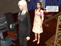 #courtleymanor #gothic #sims2 #comic #goth #sims #psychics #vampires #governess