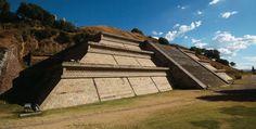Pueblos Mágicos de México  Basamento de la pirámide de Cholula