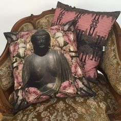 Buddha Rose cushion by Van Asch.