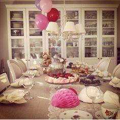 Fødselsdags bord fra igår den 23/11 pigefødselsdag  134❤️