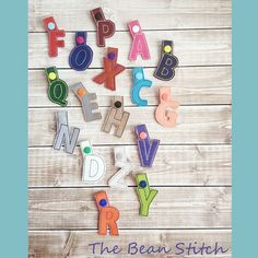 Simply A to Z - Includes 26 files (Full Alphabet) Machine Embroidery Projects, Embroidery Software, Embroidery Files, Kam Snaps, Embroidery Alphabet, Key Fobs, Stitch Design, One Design, Create Yourself