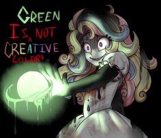 green is not a creative color - Buscar con Google