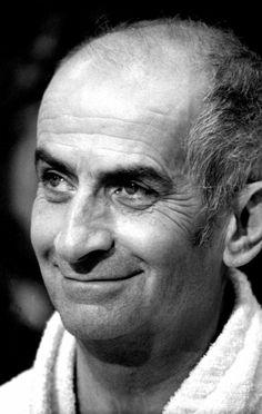 Louis De Funès - French actor of Spanish origin - - Prominente French Movies, Actor Studio, Photo Portrait, Celebrity Portraits, Photo Black, Best Actor, Famous Faces, Old Pictures, Comedians
