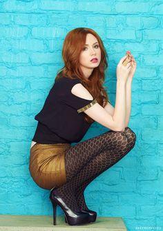 Karen Gillan- pretty