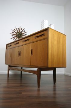 G-Plan dresser. Don't know what it looks like inside, but it could be another nice idea for the dining room.