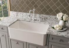"After looking at Ikea cabinets, I think we need this sink, so we can use a 36"" base cabinet"