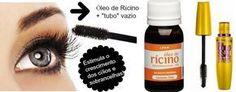 Óleo de Rícino para o crescimento dos cílios e sobrancelhas!  (https://www.facebook.com/permalink.php?story_fbid=263255580534646&id=198862706973934)  (https://www.youtube.com/watch?v=l9BshdV3IqU&app=desktop)