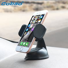 Cobao Windshield phone car holder & Car dashboard stand for iphone & Mini mobile phone bracket for 3inch to 6 inches smartphone