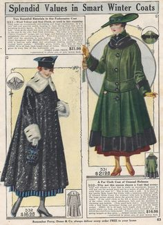 1917 Winter Coats