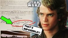 Anakin S Father Revealed In Script Of Revenge Of The Sith Sith Revenge You Are The Father