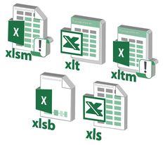 Mostrar las extensiones de Excel en Windows