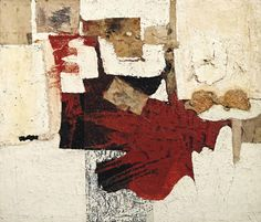 View Sacco By Alberto Burri; oil and burlap on canvas; Access more artwork lots and estimated & realized auction prices on MutualArt. Alberto Burri, Georges Braque, Magazine Art, Art Market, Contemporary Paintings, Collage Art, Collages, Modern Art, Moose Art