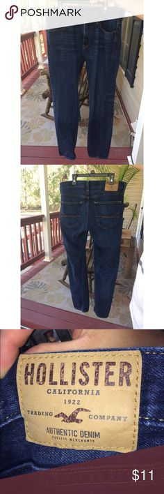 Men's Hollister Jeans Men's hollister jeans in size W31 L30, only worn a couple times, like new! Hollister Jeans Skinny