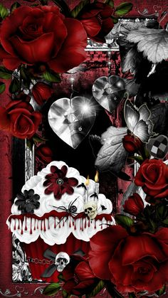 Wallpapers by Creative Chik Designs Happy Valentine Images, Gothic, Wallpaper, Anime, Art, Art Background, Goth, Wallpapers, Kunst