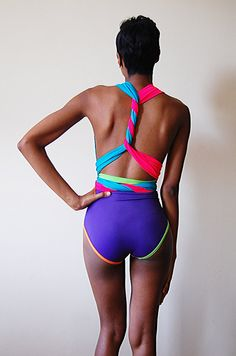 Bright Delight Swimsuit M by naKiMuli on Etsy, $125.00