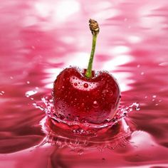 cherry fantasy | Red Cherry - iPad Wallpaper