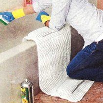 DUAL CUSHION TUBSIDE BATH MAT - IDEAL FOR CLEANING AND BATHING THE KIDS! (NO MORE SORE ELBOWS AND KNEES!)