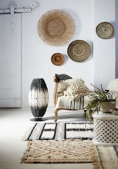 Stylist Jacqui Moore designs new range of Klaylife chandeliers - Boho Home Decor - Minimalismus İdeen Interior Design Minimalist, Interior Design Living Room, Living Room Designs, Boho Living Room, Living Room Decor, African Home Decor, Interior Minimalista, Deco Boheme, Style Deco