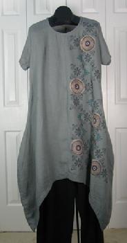 flax linen wearable art clothing