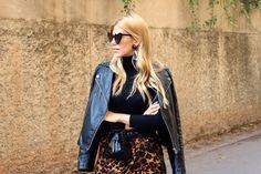 Miss trendy Barcelona: Leopard skirt Leopard Skirt, Barcelona, Punk, Skirts, Style, Fashion, Leopard Skirt Outfit, Moda, La Mode