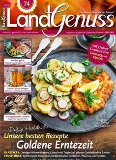 Deftige Herbstküche - Unsere besten #Rezepte zur #Erntezeit      Jetzt in Landgenuss, Ausgabe 5/2016