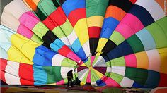 ...beautiful parachute! My students in PE loved parachutes; we never had one this big !