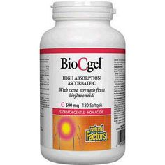 Natural Factors Bio C Gel High Absorption Vitamin C - Colds, Flu & Viral - Health Conditions | Body Energy Club Supplements