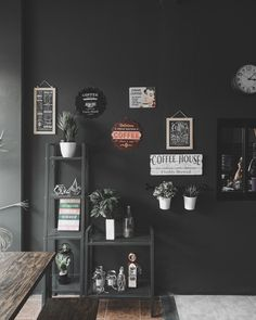 Cafe Interior, Never Give Up, Gallery Wall, Frame, House, Home Decor, Picture Frame, Decoration Home, Home