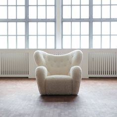 Flemming Lassen 'The Tired Man' A. J. Iversen, 1936 | From a unique collection of antique and modern lounge chairs at https://www.1stdibs.com/furniture/seating/lounge-chairs/