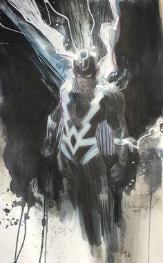 Black Bolt by Tommy Lee Edwards *