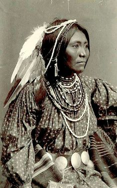 Apache woman. 1888. New Mexico/Arizona. Photo by Frank A. Randall.  Source - National Anthropological Archives, Smithsonian