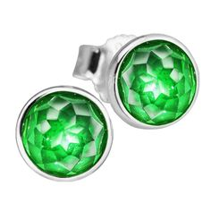 Fits European Jewelry Silver Earrings for Women Authentic 925 Sterling-Silver-Jewelry May Droplets Stud Earrings FLE080-5