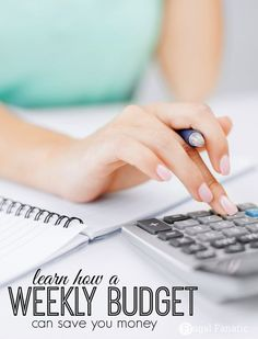 Do you use a budget? Figuring out your income and expenses can make a huge difference when it comes to saving money. Learn how a weekly budget can be beneficial for your family.