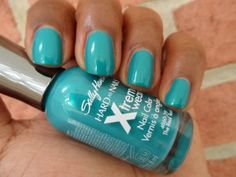 sally hansen the real teal