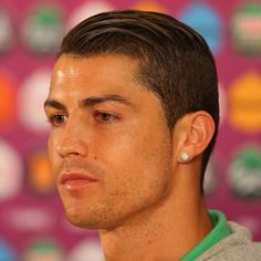 Cristiano Ronaldo Argues With The Ref In The Game Against Germany - Cr7 hairstyle 2015 vs serbia