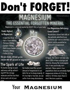 Magnesium - with MTHFR you may not break down B vitamins to use Mg